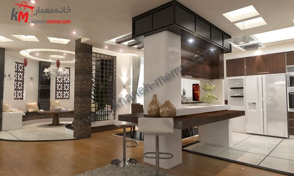 طراحی آپارتمان مسکونی24×12.5