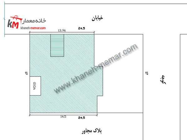سایت پلان ساختمان