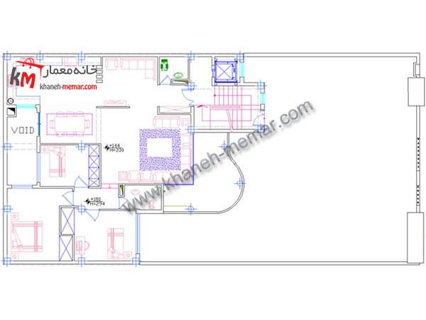 طبقه اول خانه