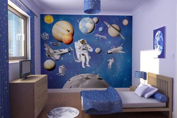 چیدمان اتاق خواب پسرانه