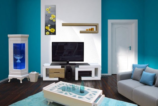 ترکیب رنگ های زیبا در دکوراسیون منزل