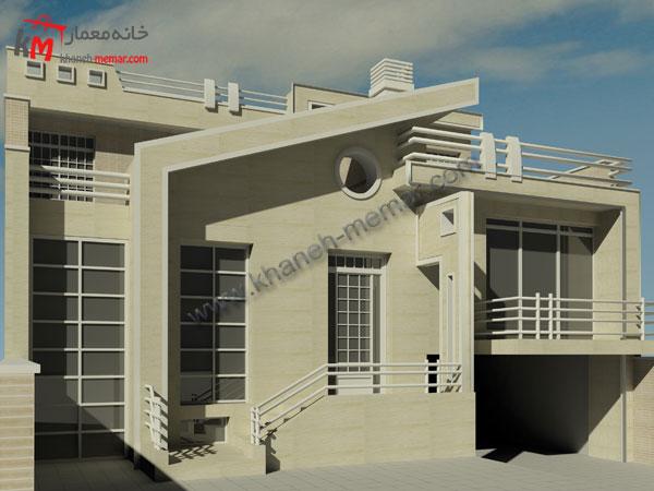 پلان مسکونی مدرن