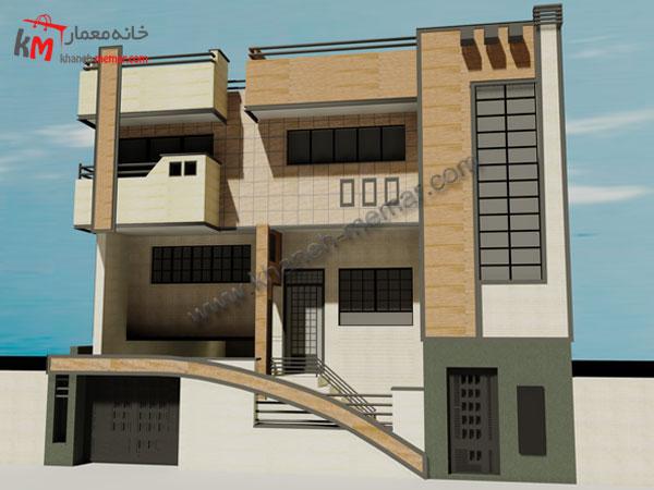 ساختمان چهار طبقه
