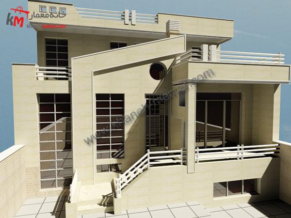 ساختمان مسکونی سه طبقه
