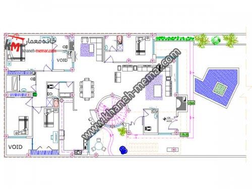 پلان 1 طبقه |دانلود نقشه ساختمان