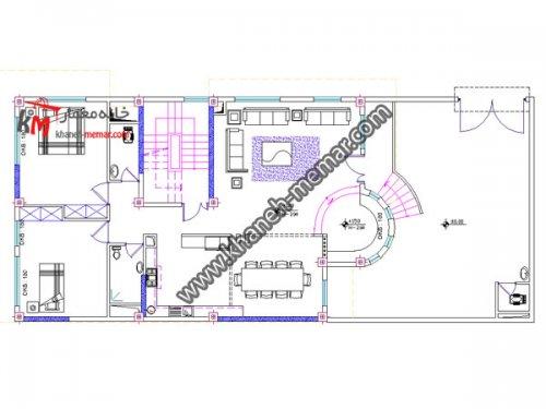 پلان مدرن |دانلود نقشه