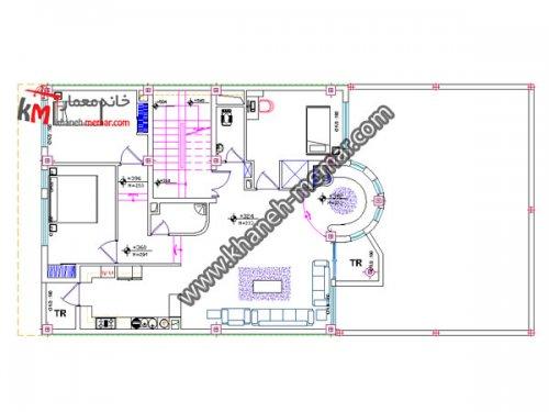 نقشه کامل دانلودی |دانلود نقشه ساختمان