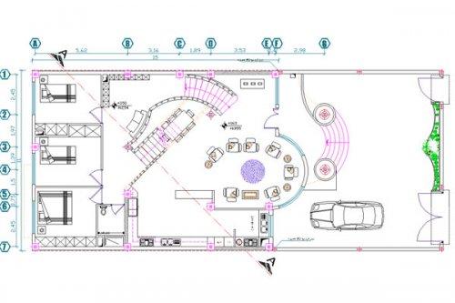 پلان لوکس |دانلود نقشه