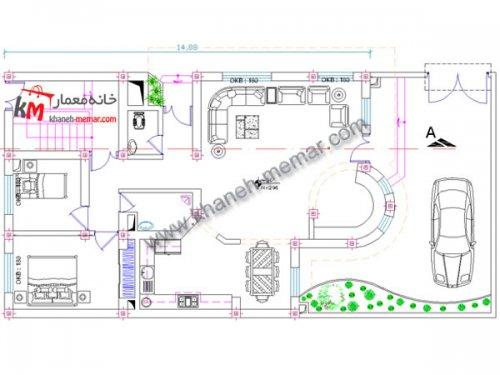 نقشه کامل |دانلود نقشه معماری