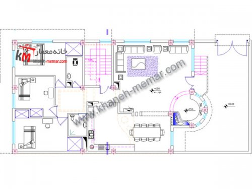 نقشه ساختمان دانلودی