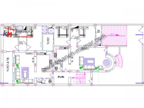 پلان معماری |دانلود نقشه