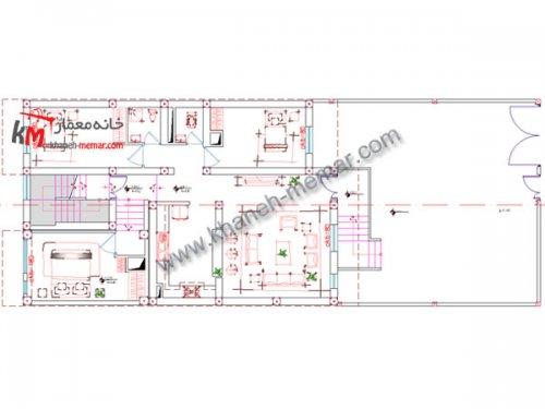 خانه معمار |دانلود نقشه اجرایی