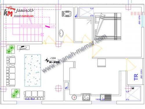 نقشه منزل دانلودی