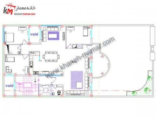 دانلود نقشه معماری |خانه معمار